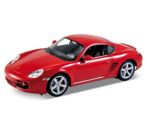 Автомобиль Welly Porsche Cayman S 1:18 цвет в ассортименте 18008 welly porsche cayman s 1 24 велли welly
