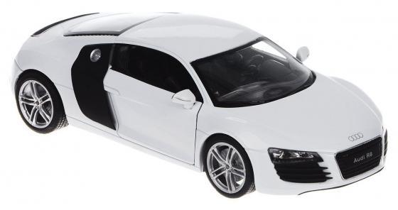 Автомобиль Welly Audi R8 1:24 автомобиль welly audi r8 v10 1 24 красный