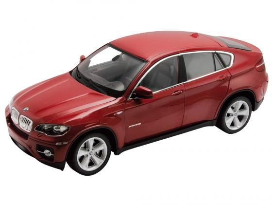 Автомобиль Welly BMW X6 1:24 красный 24004 автомобиль welly bmw x5 1 24 белый 24052