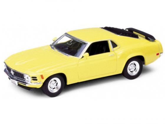 Автомобиль Welly Ford Mustang 1970 1:34-39 цвет в ассортименте 49767 welly 1 24 ford mustang gt