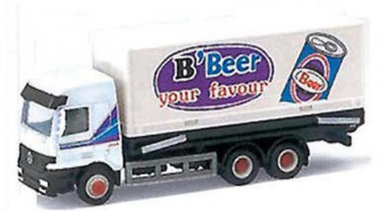 Грузовик WELLY B'Beer белый от 3 лет металл