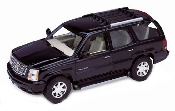 Автомобиль Welly 2002 Cadillac Escalade 1:34-39 цвет в ассортименте 42315 rastar cadillac escalade 28400