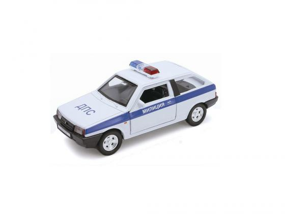 Автомобиль Welly LADA 2108 Милиция ДПС 1:34-39 welly lada 2108 1 34 39