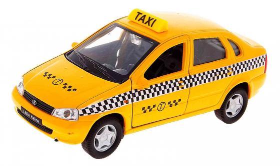 Автомобиль Welly Lada Kalina Такси 1:34-39 42383 автомобиль welly nissan gtr 1 34 39 белый