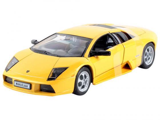 Автомобиль Welly LAMBORGHINI MURCIELAGO 1:34-39 желтый 42317 welly 42317 велли модель машины 1 34 39 lamborghini murcielago