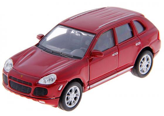 Автомобиль Welly PORSCHE CAYENNE TURBO 1:34-39 цвет в ассортименте 42348 rastar радиоуправляемая модель porsche cayenne turbo цвет белый масштаб 1 14