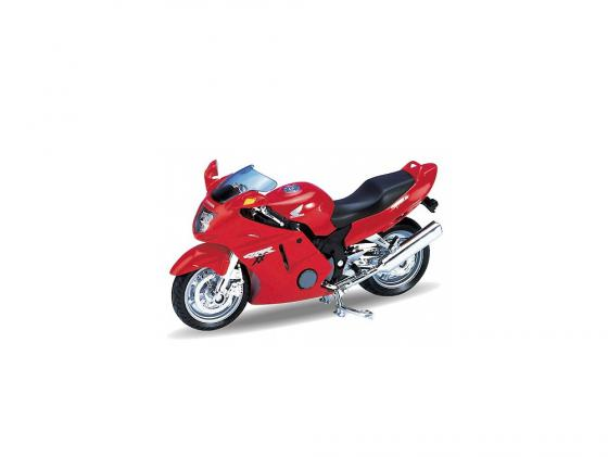 Мотоцикл Welly CBR1100XX 1:18 12143PW мотоцикл welly yamaha 2001 yzf1000r thunderace 1 18 12154p