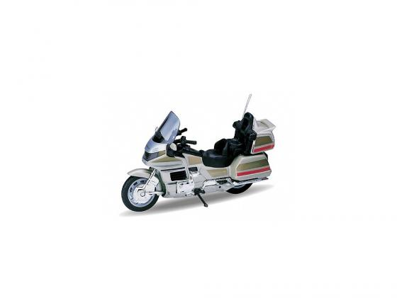 Мотоцикл Welly Honda Gold Wing 1:18 12148P welly мотоцикл honda hornet