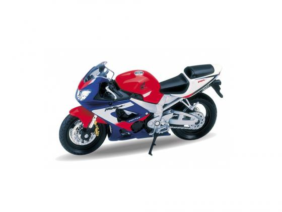 Мотоцикл Welly Honda CBR900RR Fireblade 1:18 мотоцикл welly honda gold wing 1 18 12148p