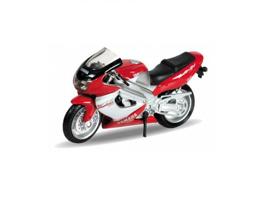Мотоцикл Welly Yamaha 2001 YZF1000R Thunderace 1:18 12154P мотоцикл yamaha rsz100cc