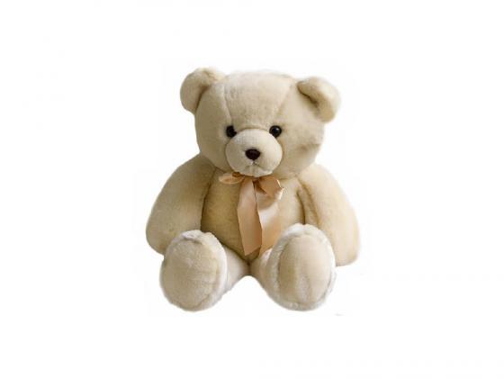 Мягкая игрушка медведь Aurora 11-355 56 см бежевый плюш недорого