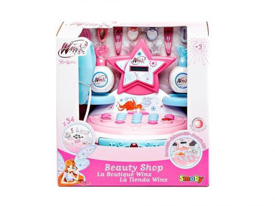 Игровой набор Smoby Мини-магазин 32 предмета 24574 игровой набор smoby smoby руль штурвал самолеты