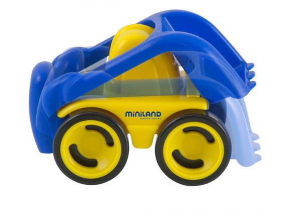 Будьдозер Miniland 27477 1 шт 27 см разноцветный miniland магнитная игра портреты