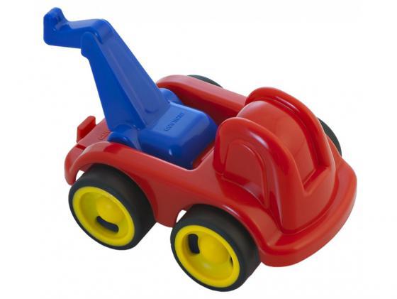 Каталка-машинка Miniland Спасатель пластик от 1 года красный 27492 мини машинка miniland такси 9 см синий 27507
