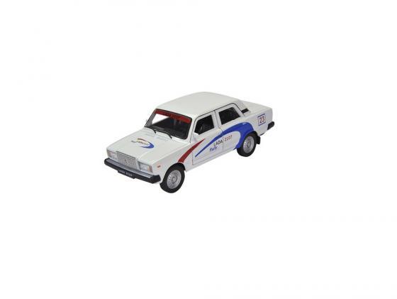 Автомобиль Welly Lada 2107 Rally 1:34-39 белый автомобиль welly nissan gtr 1 34 39 белый 43632