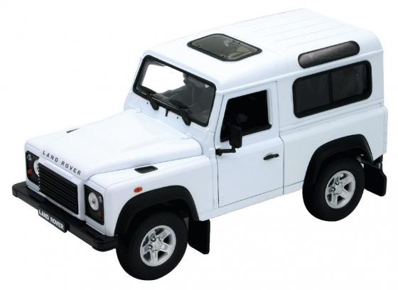 Автомобиль Welly Land Rover Defender 1:24 22498W rover 400 rt с акпп в курске