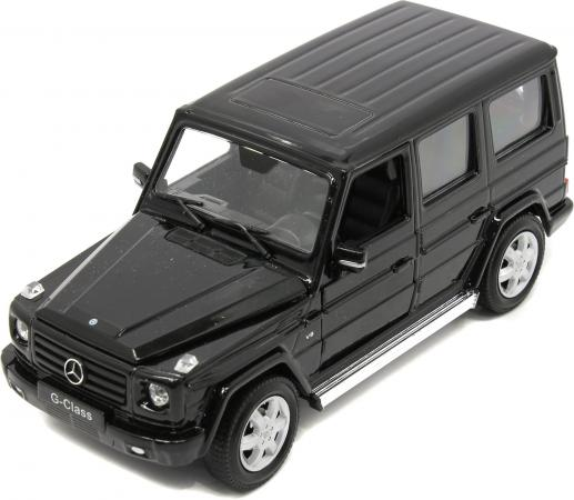 Автомобиль Welly Mercedes-Benz G-Class 1:24 черный 24012W
