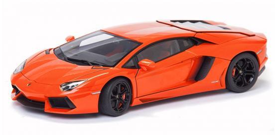 Автомобиль Welly Lamborghini Aventador LP 700-4 1:24 оранжевый 24033 пазл 73 5 x 48 8 1000 элементов printio lamborghini aventador