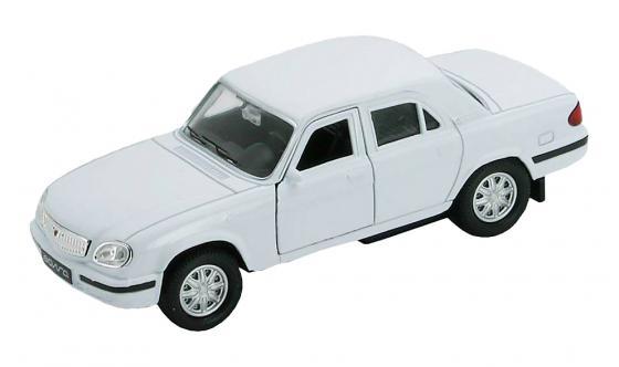 Автомобиль Welly Волга 1:34 автомобиль welly hundai tucson 1 34 коричневый 43718