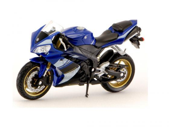 Мотоцикл Welly Yamaha YZF-R1 1:18 синий 12806P мотоцикл yamaha rsz100cc