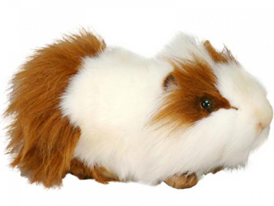 Мягкая игрушка свинка Hansa морская 30 см белый искусственный мех 3245 мягкая игрушка hansa лисица 53 см 6990