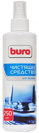 Спрей для экранов BURO BU-Sscreen 250 мл чистящий набор buro bu s mf для экранов и оптики блистер микрофибра спрей 100мл