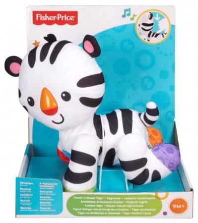 Интерактивная игрушка Fisher Price Тигренок от 9 месяцев CBN63 fisher price мягкая книжка тигренок