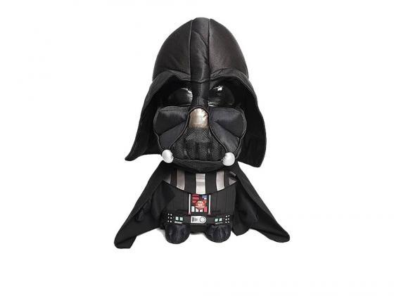 Мягкая игрушка герой мультфильма Star Wars Дарт Вейдер 38 см черный плюш star wars 38