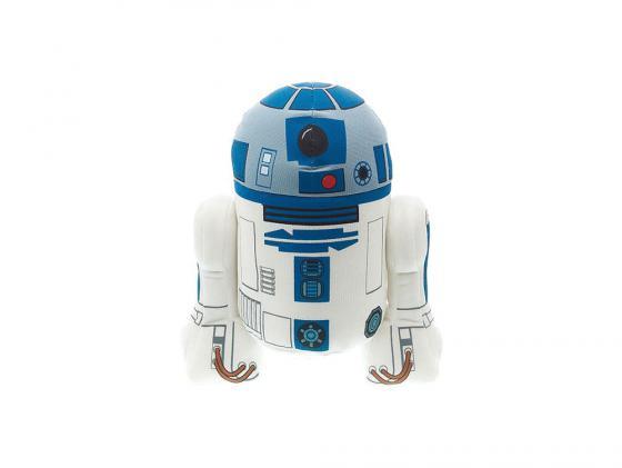 Мягкая игрушка герой мультфильма Star Wars Р2-Д2 38 см голубой плюш star wars 38