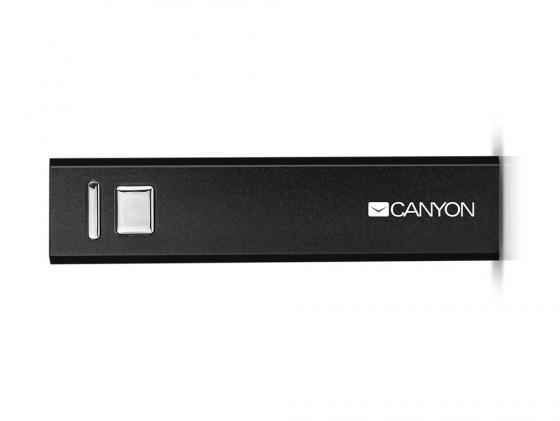Портативное зарядное устройство Canyon CNE-CSPB26B 2600мАч черный