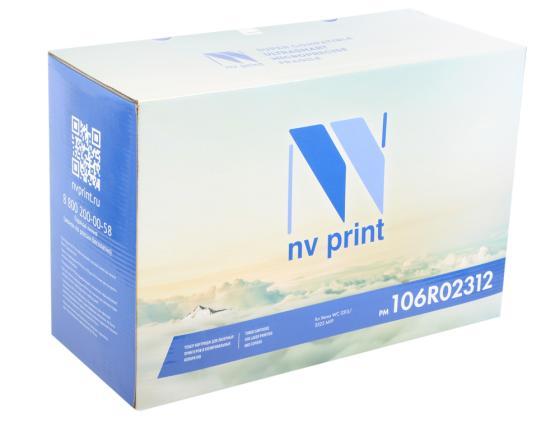 Картридж NV-Print 106R02312 для Xerox WC 3325 MFP черный 11000стр картридж nv print 106r00586 для xerox wc 312 412 m15i 6000k