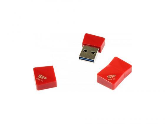 Фото - Флешка USB 8Gb Silicon Power Jewel J08 SP008GBUF3J08V1R красный накопитель usb 3 0 8gb silicon power jewel j08 sp008gbuf3j08v1k черный