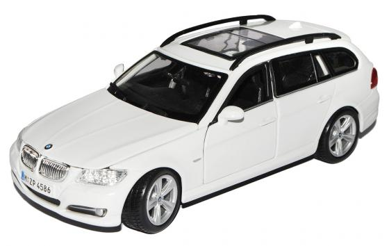 цена на Автомобиль Bburago BMW 3 Series Touring 1:24 белый 18-22116