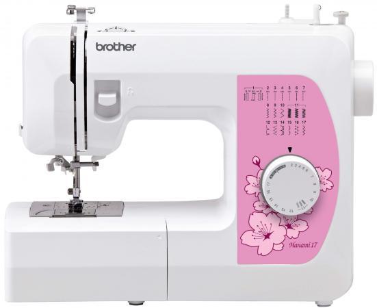 Швейная машина Brother Hanami17 белый швейная машина brother vitrage m 77 4977766749640