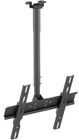 цена на Кронштейн Holder PR-101-B черный для ЖК ТВ 32-65 потолочный фиксированный VESA 400x400 до 60 кг