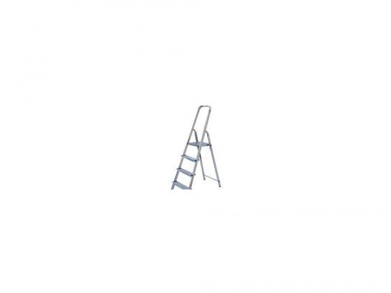 Лестница-стремянка Fit алюминиевая 4 ступени 65342 стремянка mirax 4 ступени 80см 38800 04