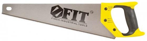 Ножовка Fit Профи по дереву закаленный зуб пластиковая ручка 350мм 40473 ножовка по дереву fit 40475