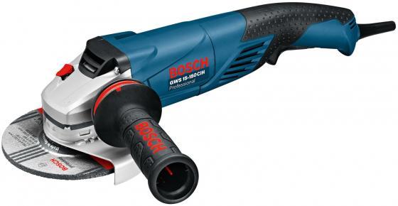 Углошлифовальная машина Bosch GWS 15-150 CIH 150 мм 1500 Вт