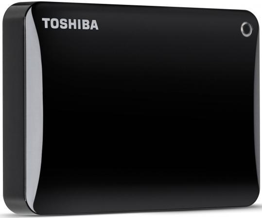 Внешний жесткий диск 2.5 USB3.0 500Gb Toshiba Canvio Connect II HDTC805EK3AA черный внешний жесткий диск 2 5 usb3 0 500gb toshiba canvio connect ii hdtc805ew3aa белый