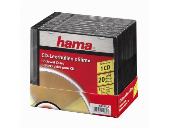 Коробка HAMA для 1 CD 20шт H-11432 lo 11432