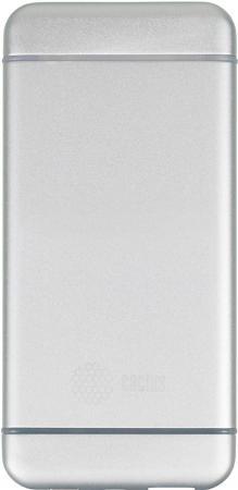 Портативное зарядное устройство Cactus CS-PBMS028-5000AL 5000мАч серебристый в в добровольская изучаем глагольные приставки
