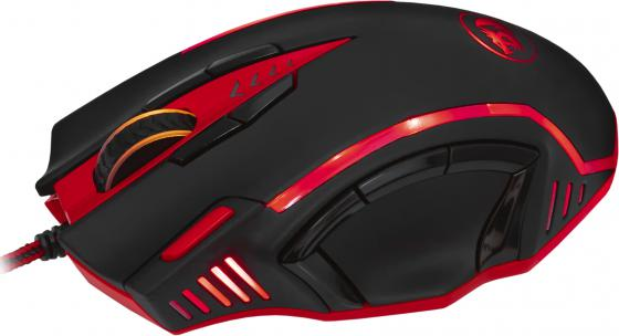 Мышь проводная Defender ReDragon Samsara чёрный красный USB 70245 redragon samsara black red usb