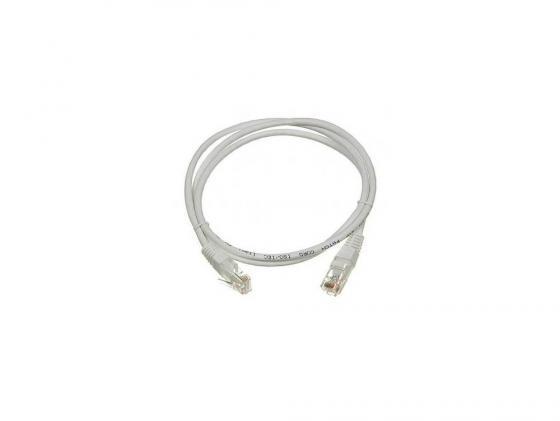 Патч-корд Lanmaster 6 категории UTP серый 1.0м TWT-45-45-1.0/6-GY 6 90
