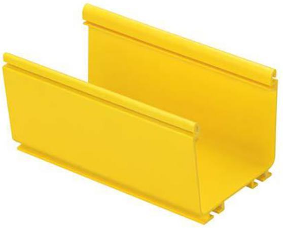 """Основание короба Panduit FR4X4YL2 FiberRunner 4x4"""" 2м желтый  крышка короба panduit frhc6yl2 fiberrunner 6"""