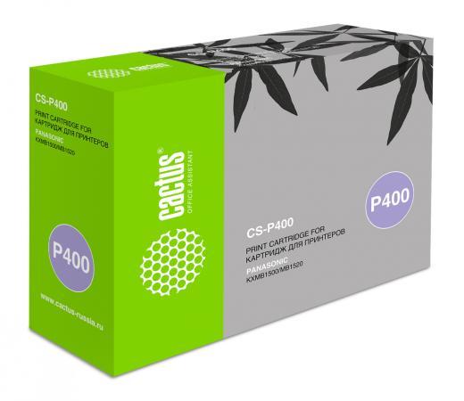 Картридж Cactus KX-FAT400A для Panasonic KXMB1500/MB1507/MB1520 черный 1800стр (CS-P400) термопленка cactus cs ttrp57 для факсов panasonic kx fa57a kx fp343 fhp363 fb421 422 423 2шт 213mm х 70м
