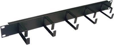 Кабельный органайзер Lanmaster TWT-ORG1U-5V 19 1U 5 колец кабельный органайзер estap e44org1ub 19 1u 5 колец черный