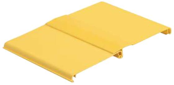 Крышка короба Panduit FRHC12YL2 FiberRunner 12 2м желтый