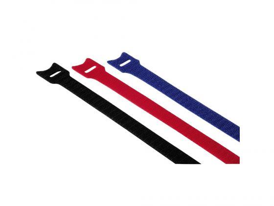 Купить Набор стяжек-липучек Hama H-20536 14.5см 12шт цветные, Набор стяжек на липучках