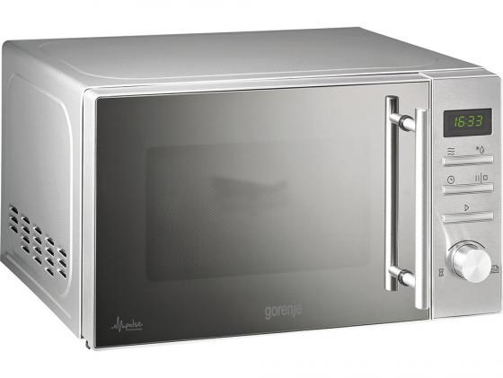 Микроволновая печь Gorenje MMO20DEII 20л 800Вт серебристый микроволновая печь samsung fg77sstr 20л 800вт серебристый встраиваемая