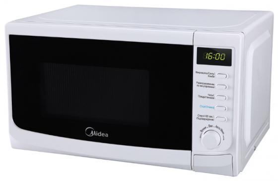 Микроволновая печь Midea AG820CWW-W 800 Вт белый midea микроволновая печь midea eg820cxx w